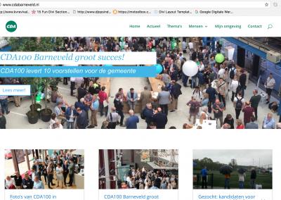 Website – CDA Barneveld