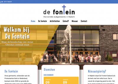 Website De Fontein